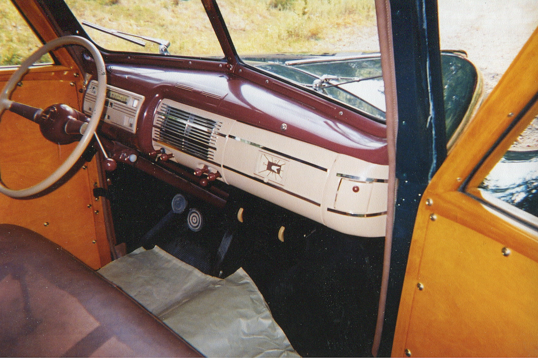 After 1940 Ford Woodie