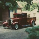 Joe's first street rod built at the age of 16. 1931 Ford